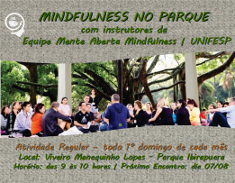 FLYER MINDFULNESS NO PARQUE